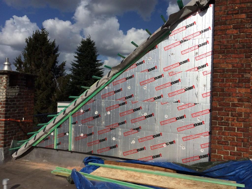Isolation de toiture par RMC